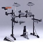 an electronic drum-kit